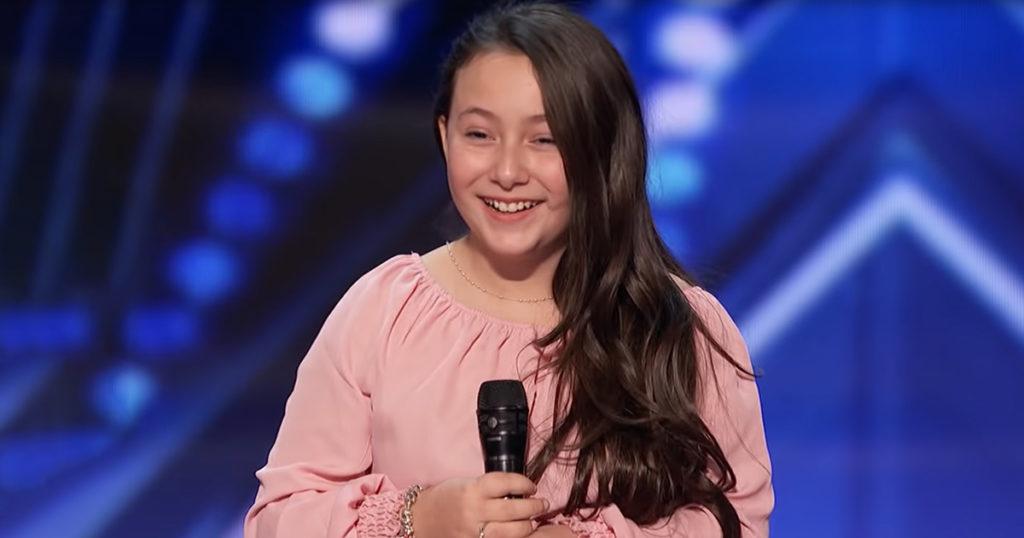 10-Year-Old Sings Lady Gaga Earning Golden Buzzer In ...
