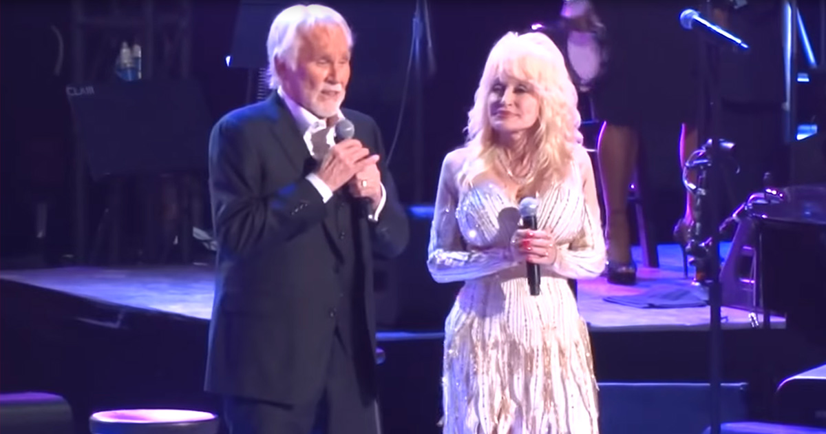 Country Legends Kenny Rogers and Dolly Parton Perform Show ...
